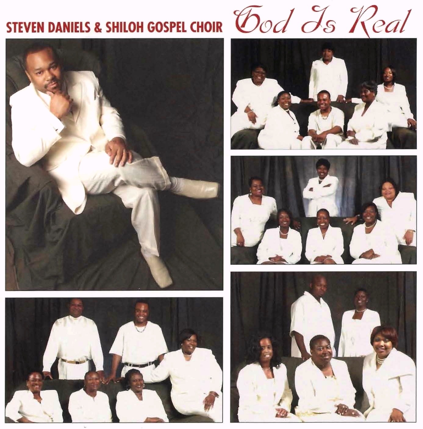 God Is Real CD Cover